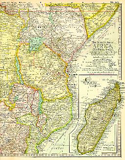 1897 Africa map